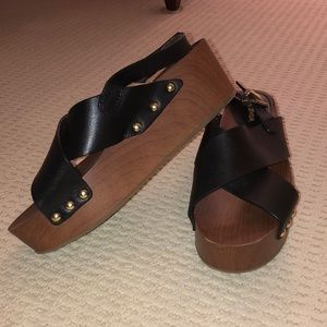 Black Sam Edelman Sandals